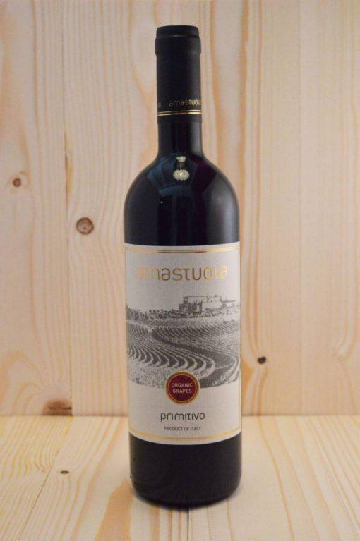 Amastuola Primitivo - biologische Italiaanse rode wijn