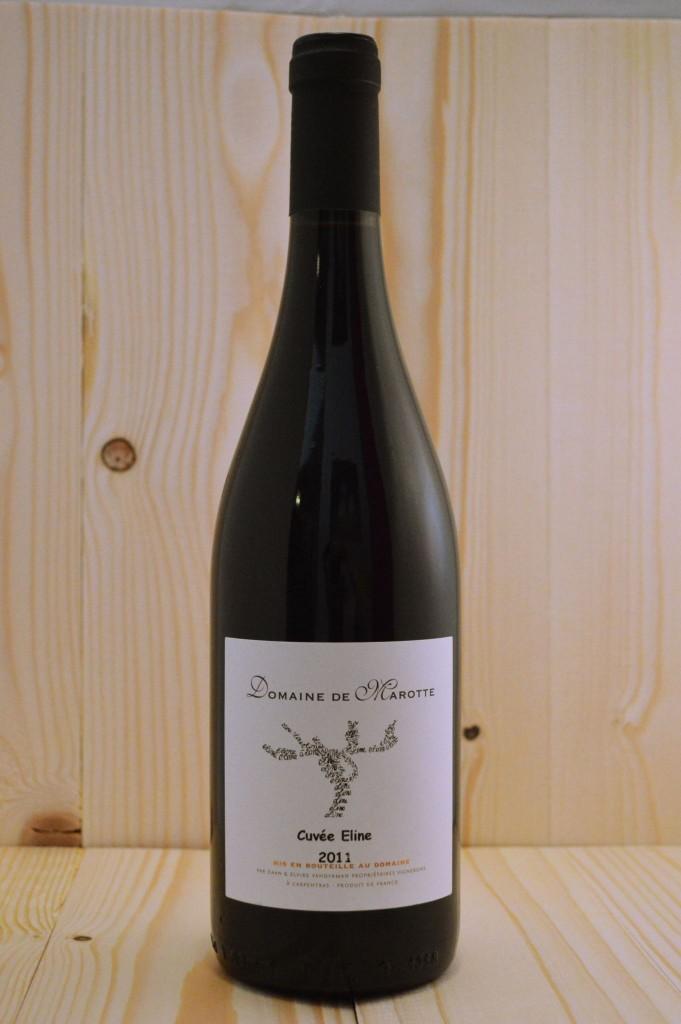 domaine de marotte cuvee eline - biologische rode Franse wijn