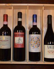 luxe Italiaanse wijn cadeau 6 flessen