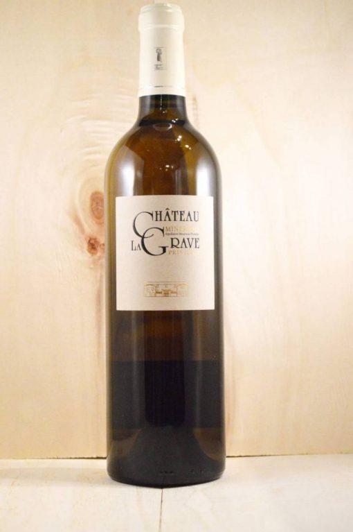 Château La Grave Minervois Privilege Blanc - Franse droge witte wijn uit de Minervois
