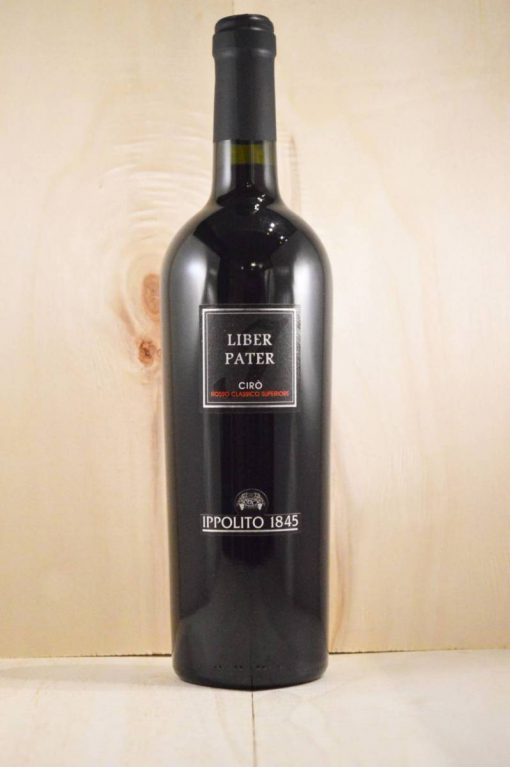 Ippolito 1845 Liber Pater Cirò - Rode wijn uit Zuid-Italië