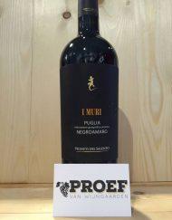 Vigneti del Salento I Muri Negroamaro - Italiaanse rode wijn