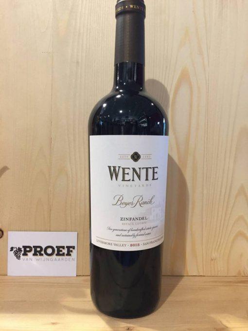 Wente Beyer Ranch Zinfandel - Californische wijn