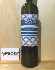 El Camino Albarino Rias Baixas - Droge Spaanse witte wijn