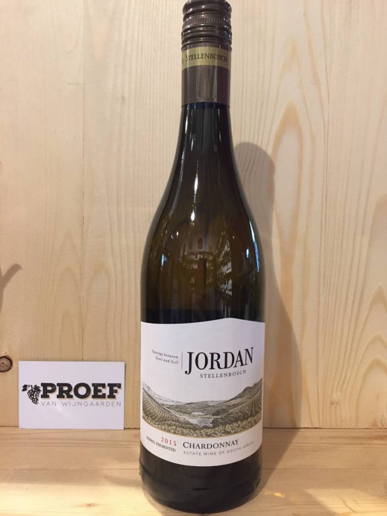 Jordan Stellenbosch Barrel Fermented Chardonnay - Chardonnay uit Zuid-Afrika