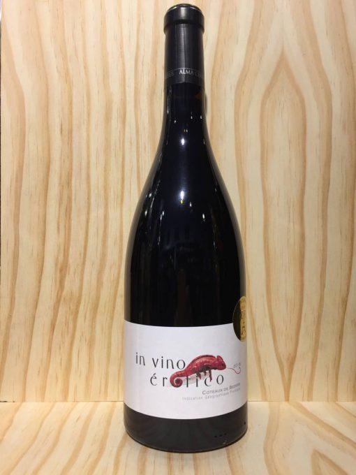 Alma Cersius In Vino Erotico Rouge rode Franse wijn Languedoc Roussillon