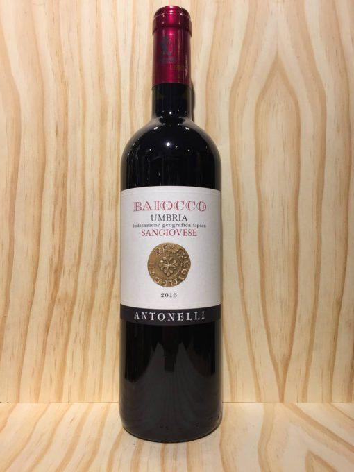 Antonelli Baiocco Sangiovese Umbria Rosso Italiaanse rode wijn
